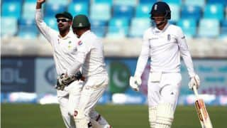 Pakistan in overwhelming position at lunch on Day 5 of the 2nd Test against England at Dubai