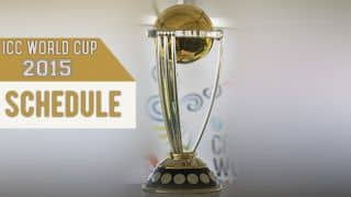 ICC World Cup 2015 Fixtures: Cricket World Cup Schedule & Time Table