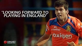 Shivil Kaushik: Playing with Suresh Raina, Brendon McCullum dream come true; goal is to play Tests for India