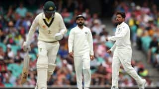 4th Test: Forced to follow on, Australia 6/0 at tea as bad light sets in