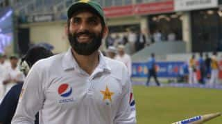 PAK vs WI, 1st Test: Misbah feels evening dew assisted in run-scoring on Day 5