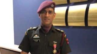 MS Dhoni thanks defence forces after receiving Padma Bhushan