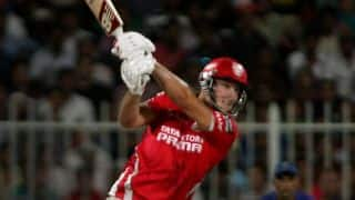 David Miller's pyrotechnics helps Kings XI Punjab to post 198/8 against Royal Challengers Bangalore in IPL 2014