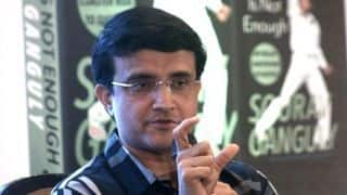 Sourav Ganguly 'will certainly complete his World Cup assignment'