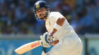 Virat Kohli Ajinkya Rahane lead India to 224/3 at lunch on Day 3 of 3rd Test against Australia