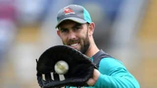 Fit-again Glenn Maxwell eyes Pakistan Tests for return