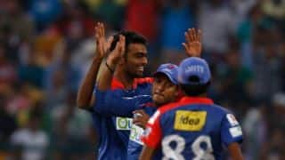 Unadkat gets Rohit and Pollard in same over