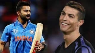 Christiano Ronaldo inspires me; Says Virat Kohli