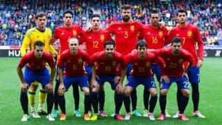 ESP 1-0 CZE, Live football score, Spain vs Czech Republic, Euro 2016, Group D, Match 8 at Toulouse: ESP off to winning start