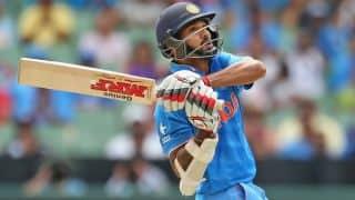 IND vs IRE: Shikhar Dhawan dismissed for 100 by Stuart Thompson
