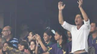 Shahrukh Khan tweets in support of KKR