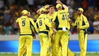 India vs Australia: David Warner hints Aaron Finch's comeback in Playing XI
