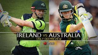 Ireland vs Australia 2015, one-off ODI at Belfast Preview: Visitors look to regroup under new skipper Steven Smith
