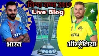 Cricket World Cup 2019 live cricket score and updates IND vs AUS, Match 14, live streaming, live score updates live blog and ball by ball commentary