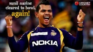 Sunil Narine cleared to bowl by BCCI with a final warning