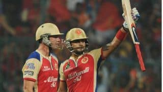 Live Cricket Score IPL 2014: Delhi Daredevils (DD) vs Royal Challengers Bangalore (RCB) match 2 of IPL 7 at Sharjah