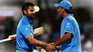 India vs Australia: Virat Kohli says Only MS Dhoni knows what's going on in his mind