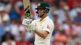 Adam Voges scores half-century as Australia remain on top against New Zealand at lunch on Day 2