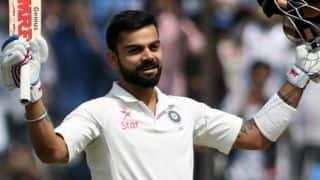 India register highest Test total vs Bangladesh; Virat Kohli slams 204