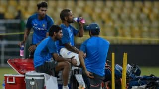 Dhawan down with fever ahead of 1st ODI