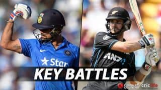 India vs New Zealand, 4th ODI: Virat Kohli vs Kane Williamson, Umesh Yadav vs Martin Guptill and other key battles