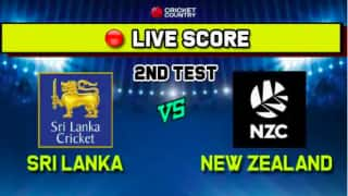 Live: Sri Lanka vs New Zealand 2nd Test, Day 2 - Play called off in Colombo with Sri Lanka 144/6