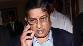 N Srinivasan files affidavit in SC over suspension as BCCI president