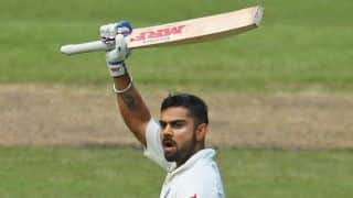Virat Kohli scores 12th century during India vs West Indies, 1st Test, Day 1 at Antigua