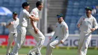 India vs Australia, 1st Test, Day 2, lunch: Mitchell Starc's double-wicket maiden upsets hosts; Virat Kohli gets maiden duck at home