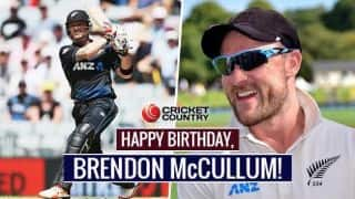 Happy B'day, McCullum! Former NZ skipper turns 35