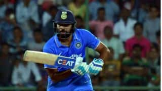 India vs New Zealand 3rd ODI: Rohit Sharma dismissed for 13 by Tim Southee