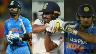 साल 2016 में भारतीय बल्लेबाजी के पांच सबसे यादगार पल