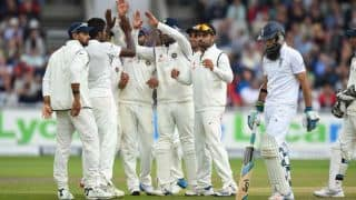 Live Scorecard: India vs England 2014, 5th Test at The Oval, Day 2