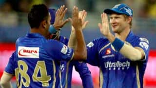 Rajasthan Royals limit Chennai Super Kings to 140/6 in IPL 2014 Match 10 at Dubai