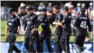 न्यूजीलैंड ने किया वेस्टइंडीज का सूपड़ा साफ, तीसरे वनडे में 66 रनों से हराया