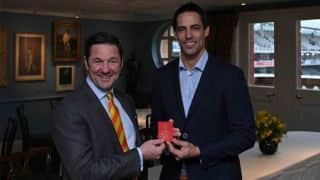 Mitchell Johnson made MCC Honorary life member