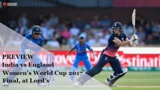 India vs England, ICC Women's World Cup 2017 final, preview and likely XI: A battle of nerves at Lord's