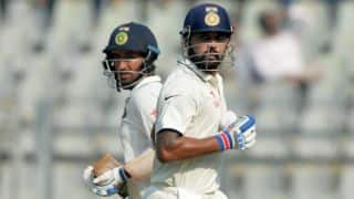 India vs England, 4th Test, Day 2: Murali Vijay, Cheteshwar Pujara pile on runs; hosts trail by 254