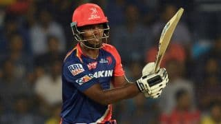 IPL 2016, Delhi Daredevils vs Rising Pune Supergiants: Sanju Samson falls for 20