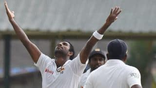 Sri Lanka tour of England 2016: Dhammika Prasad ruled out of 2nd warm-up match due to injury