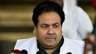 Pakistan should not support terrorism: IPL chairman Rajeev Shukla