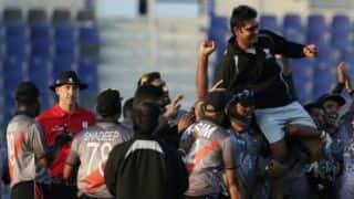 Aaqib Javed resigns as UAE head coach