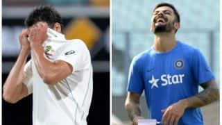 Did Mitchell Starc do a Twitter goof-up by messaging the wrong Virat Kohli?