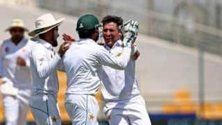 दुबई टेस्ट में यासिर ने 14 विकेट लेकर की इमरान खान की बराबरी