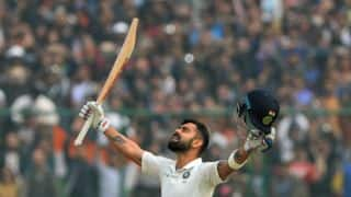 Shastri takes field, Kohli throws his bat and other highlights from Day 2