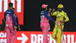 IPL 2020: Rajasthan Royals Prevail in High-Scoring Clash Against Chennai Super Kings