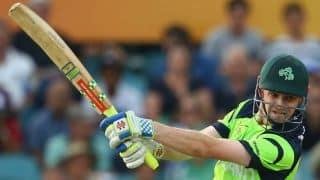 UAE vs Ireland, 1st ODI at Dubai: William Porterfield guides visitors to 270