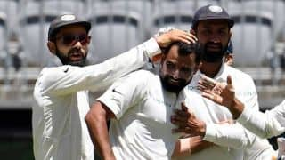 Always try to bowl at right line, length: Mohammed Shami