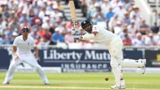 Bhuvneshwar Kumar, Mohammed Shami complete half-centuries, bring up 100 partnership; score 452/9