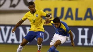 Copa America: Luiz Gustavo out of Brazil squad